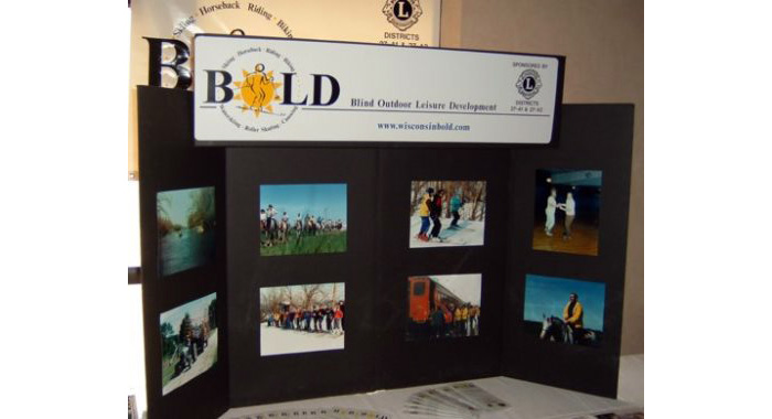 bold trade show display